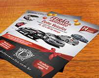 Flyer Dotto Veículos - Campanha de aniversário
