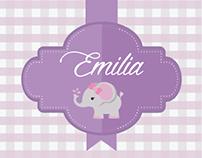 Baby shower - Emilia