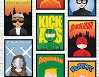 Heróis minimalistas - KickAss, Hancock, Demolidor...