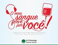 A.C.Camargo - Campanha para o Banco de Sangue