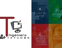 tuingeniero.com.ve, Sitio Web Personal basado en Yii