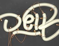 Diseño 3D Lettering