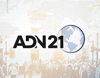 Logo & Print design - ADN21