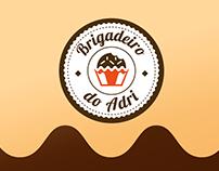 Logotipo e Social Media   Brigadeiro do Adri
