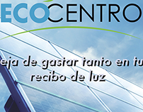 Ecocentro magazine ad.