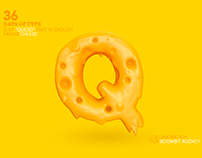 Q de Queso / 36 Days Of Type