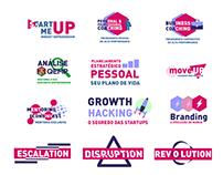 Pacote de Logotipos Start Up