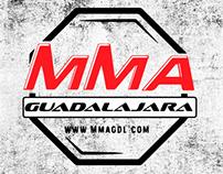 Franelas de MMA Guadalajara