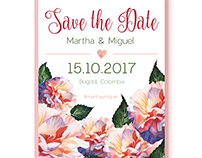 SAVE - THE - DATE INVITATION