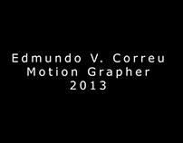 Motion Graphics Reel 2013