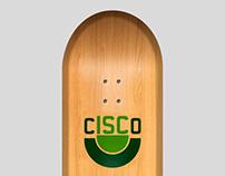 Cartões Skate Cisco