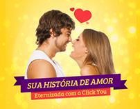 Sua História de amor eternizada com a Click You