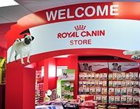 Loja dentro de loja, Royal Canin  - na Animalle