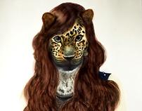 Ilustración Rostro Leopardo