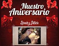 Ricardo y Patricia 15 Meses Juntos