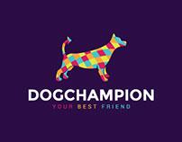 Dog Champion Logo