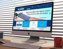 Site da empresa Ilun
