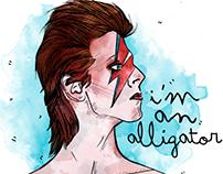 The alligator - David bowie