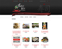 E-commerce delivery Sushi Box