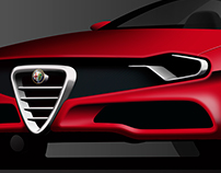 Alfa Romeo Alfetta GTV Concept