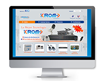 Página Web kromsecurity.com