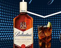 Retouching Digital / Ballantines Cola