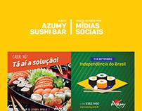 Mídias Sociais - Azumy Sushi Bar