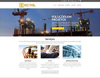 Criação de site profissional em wordpress actal.com.br