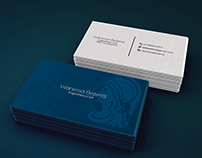 Business Card - Wanessa Bezerra, Engenheira Civil