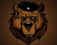 Che bear - Ilustración digital