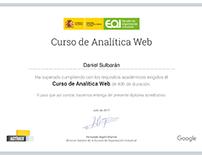 Certificación de cursos