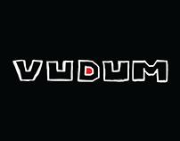 Diseño de Logo, identidad, para VUDUM, productora