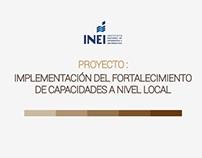 PROYECTO - INEI: FORTALECIMIENTO DE CAPACIDADES