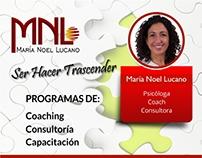 flyer design for MNLConsultora