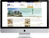 Identidade Visual e Site Real Corretora Imobiliária