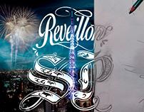 REVEILLON SP - LETTERING