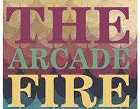 "AFICHE DE ""THE ARCADE FIRE"""
