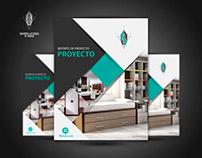 Portada de Brochure. Proyecto Personal.