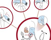 Cómo tomar la presión arterial / Diseño instruccional