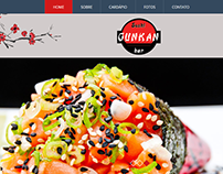 Gunkan Sushi - website