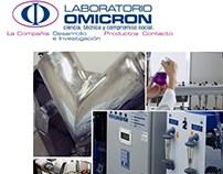 Rediseño Web Laboratorio Omicron