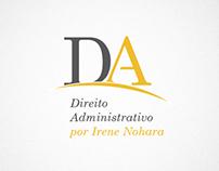 Identidade visual e site Direito Administrativo