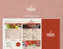 Frisco Food Menu