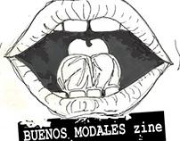 Buenos Modales Zine Logo