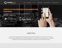 Diseño Página WEB - CORONA TAXI