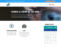 Cambia el color de tus ojos - Web Dev Wordpress