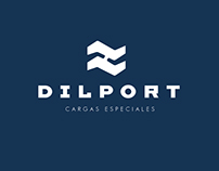 Logotype and prints for Port Operations Company.