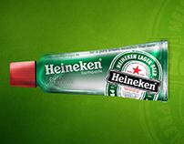 Mockup Digital Fake - Heineken
