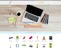 Pagina Web PromoNovelty (UI Design)
