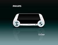 Concepto de diseño de reproductor PHILIPS